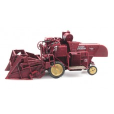387337 Massey Ferguson MF830 Combine Harvester (HO scale 1/87th)